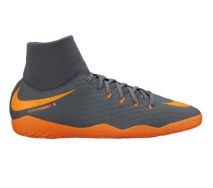 Nike PhantomX 3 Academy DF IC Grey/Orange