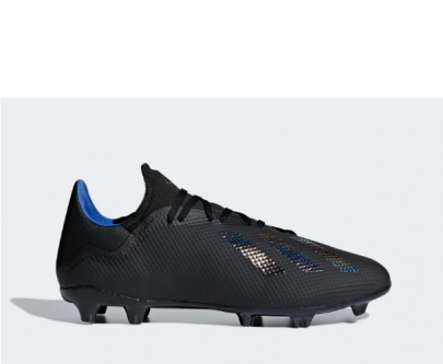Adidas X 18.3 FG Black/Blue