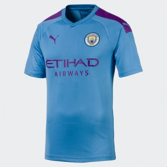 Puma Manchester City Youth Home Jersey 19/20