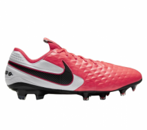 Nike 8 Legend FG White/Laser Crimson