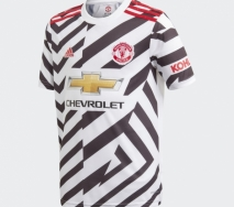 Adidas Youth Manchester United Third Jersey 20/21