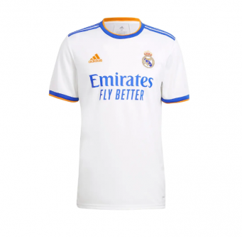 Adidas Real Madrid Men's Home Jersey 21/22