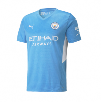 Puma Manchester City Youth Home Jersey 21/22